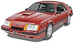 1985 Mustang SVO -- Plastic Model Car Kit -- 1/24 Scale -- #854276