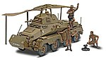 Panzerspahwagen Sd Kfz 232 -- Plastic Model Armored Car Kit -- 1/32 Scale -- #857856