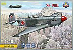 Yak9DD Soviet Fighter -- Plastic Model Airplane Kit -- 1/48 Scale -- #4804