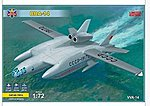 BBA14 Soviet Experimental Hydroplane -- Plastic Model Airplane Kit -- 1/72 Scale -- #72014