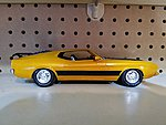 1973 Ford Mustang -- Plastic Model Car Kit -- 1/25 Scale -- #846