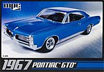 1967 Pontiac GTO -- Plastic Model Car Kit -- 1/25 Scale -- #710