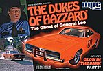 Ghost of General Lee -- Plastic Model Car Kit -- 1/25 Scale -- #754