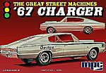 1967 Charger Great Street Machines -- Plastic Model Car Kit -- 1/25 Scale -- #829-12