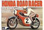 Dick Mann Honda 750 Road Racer Motorcycle -- Plastic Model Motorcycle Kit -- 1/8 Scale -- #856-06