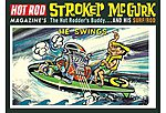 Stroker McGurk Surf Rod Cruiser Caricatur -- Plastic Model Car Kit -- 1/6 Scale -- #873-12