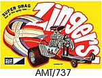 Super Drag Zinger -- Plastic Model Snaptite Kit -- #pc737