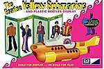 Beatles Yellow Submarine -- Plastic Model Kit -- 1/25 Scale -- #pc779