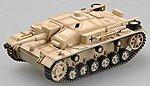 StuG III Ausf F8 Abt90 Tank 1942 (Tan) -- Pre-Built Plastic Model Tank -- 1/72 Scale -- #36148