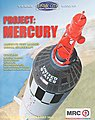Project Mercury Capsule -- Space Program Plastic Model -- 1/12 Scale -- #62001