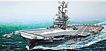 USS Intrepid Angled Deck -- Plastic Model Aircraft Carrier Kit -- 1/350 Scale -- #64008