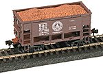 Ore Loads For Roundhouse 26' Ore Car -- Model Train Freight Load -- HO Scale -- #330