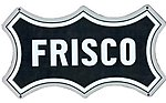 Embossed Die-Cut Metal Sign St. Louis San Franciso ''Frisco'' -- Model Railroad Print Sign -- #10028