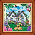 Delphinium Cottage 308pcs -- Jigsaw Puzzle 0-599 Piece -- #31514
