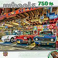 Triple Threat 750pcs -- Jigsaw Puzzle 600-1000 Piece -- #31690