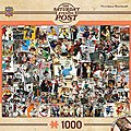 Rockwell Collage 1000pcs -- Jigsaw Puzzle 600-1000 Piece -- #71621