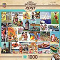 Beachtime Collage 1000pcs -- Jigsaw Puzzle 600-1000 Piece -- #71623