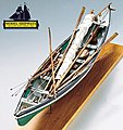 New Bedord Whaleboat 1850 -1870 -- Wooden Model Ship Kit -- 1/16 Scale -- #2033