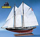 Bluenose I -- Wooden Model Ship Kit -- 1/64 Scale -- #2130