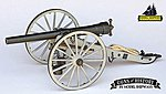 Napoleon 1857 12-Pounder Cannon -- Model Cannon Kit -- 1/16 Scale -- #4003