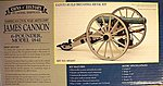 James Cannon 6-Pounder 1841 -- Model Cannon Kit -- 1/16 Scale -- #4007