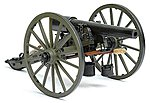 Parrott Rifle 10-Pounder 1861 -- Model Cannon Kit -- 1/16 Scale -- #4008