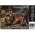 1/35 Zombie Hunter Road To Freedom (5 Fig Set)