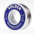 Rosin Core Solder 4oz. 60/40 -- Model Railroad Electrical Accessory -- #1064004