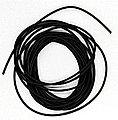 Heat Shrink Tubing 3/64'' Diameter, 10' -- Model Railroad Electrical -- #hst36410