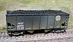 Coal Loads for Accurail 50 Ton 2-Bay Hopper (2-Pack) -- HO Scale Model Train Freight Car -- #81100
