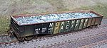 Scrap Aluminum Load for Athearn 50' Mill Gondola -- HO Scale Model Train Freight Car -- #81202