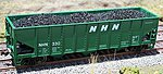 Coal Loads for Athearn/MDC 40' 3-Bay Hopper (2-Pack) -- HO Scale Model Train Freight Car -- #81217