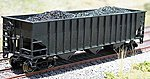 Coal Loads for Bowser/Stewart 14 Panel Hopper (2) -- HO Scale Model Train Freight Car Load -- #81409