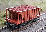 Resin Ore Loads for Tichy Ore Car (2-Pack) -- HO Scale Model Train Freight Car Load -- #81660