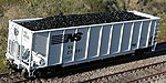 Resin Coal Loads for BLMA TopGon Hopper (2-Pack) -- HO Scale Model Train Freight Car Load -- #81901