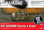 1/72 Spanish Civil War- IGC Sadurni Carrier (1) w/Crew (Resin)