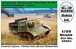 Russian Artillery Tractor T20 Komsomoletz Late -- Plastic Model Military Vehicle -- 1/35 -- #35201