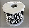 24 AWG Black and White 100' -- Model Railroad Hook Up Wire -- #247