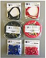 Layout Wiring Kit 50 Foot DCC Power Bus -- Model Railroad Hook Up Wire -- #268