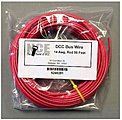 DCC Main Bus Wire Red 14 AWG 50 Feet -- Model Railroad Hook Up Wire -- #281