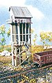 25-Ton Coaling Station -- N Scale Model Railroad Building Kit -- #10105