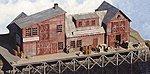 Sam Cahoon's Fish Pier -- N Scale Model Railroad Building Kit -- #10109