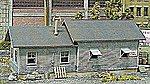 Yard Storage -- N Scale Model Railroad Building Kit -- #30008