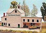 Feed & Grain Storage -- N Scale Model Railroad Building Kit -- #30016