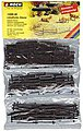 Rural Fences -- HO Scale Model Railroad Accessory -- #13095