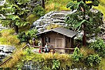 Forest Lodge Kit -- HO Scale Model Railroad Accessory -- #14342