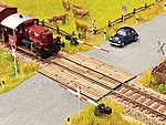Wooden Plank Crossing -- N Scale Model Railroad Accessory -- #14624