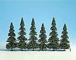 Spruce Trees (10) -- HO Scale Model Trees -- #26327