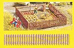 Garden Fence (2.7'' x 21'') -- N Scale Model Railroad Building Accessory -- #33070