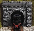 Tunnel Portal (Single Track) -- G Scale Model Railroad Tunnel -- #67350